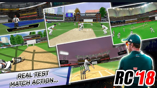 Real Cricket 18: Cricket Games For Android