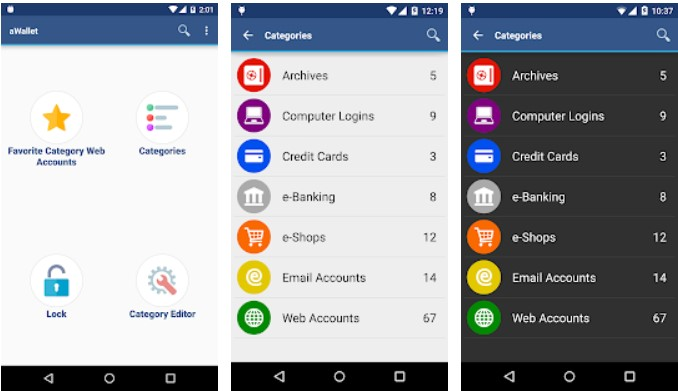 password managers for android