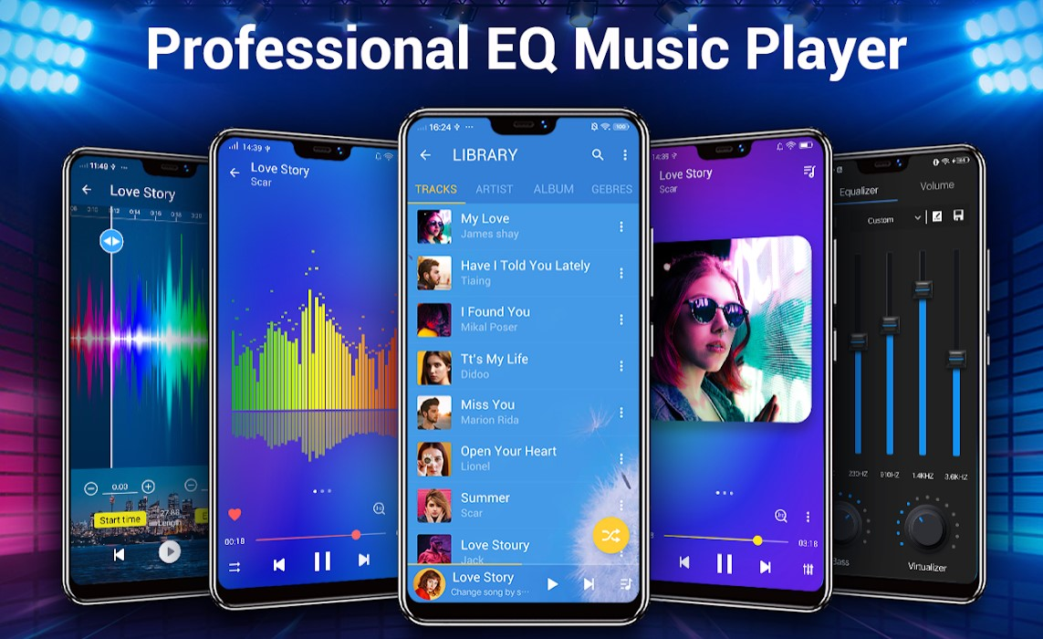 Free Android Music Player Apps