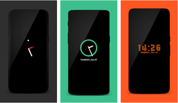 Always On AMOLED: Lockscreen app Android