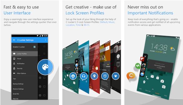 C Locker Pro: Lock Screen Apps