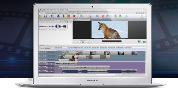 VideoPad - video editing software