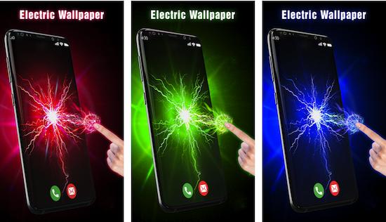 3D Electric Live Wallpaper