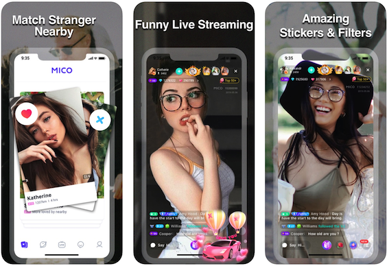MICO: stranger live video chat app