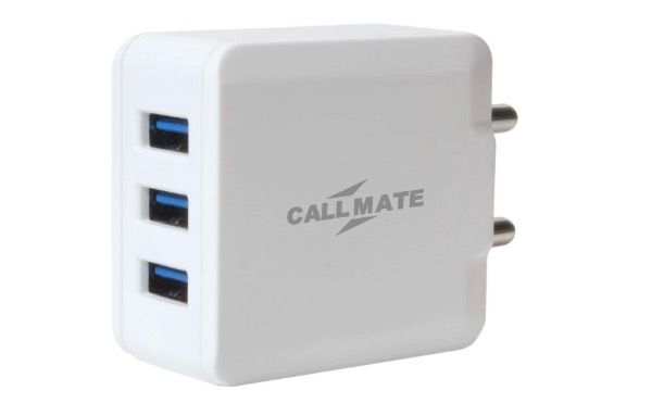 CallMate Adapter with Triple USB Charger