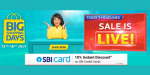 """Handpicked offers From Flipkart's """"Big Shopping Days"""" on Smartphones, Laptops and other Electronics"""