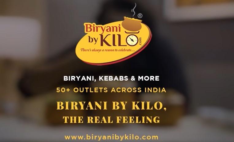 biriyani by kilo food delivery app