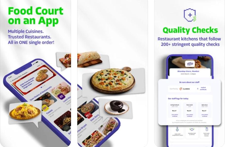 faasos food delivery app