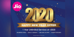 Jio announces '2020 Happy New Year Offer'