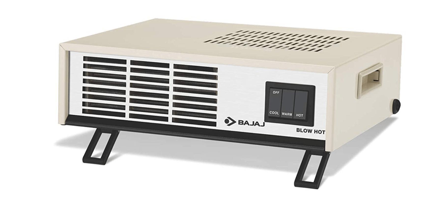 Bajaj Blow Hot Fan Room Heater