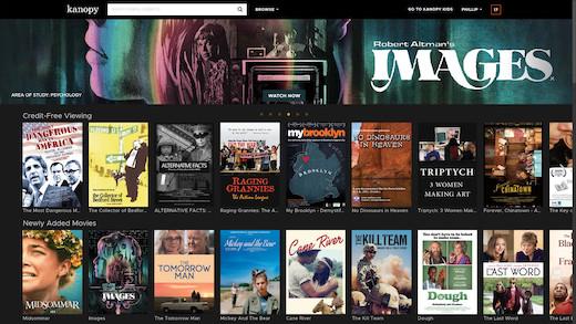 Kanopy: Movies Streaming