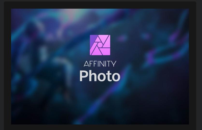 Affinity Photo editor for ipad
