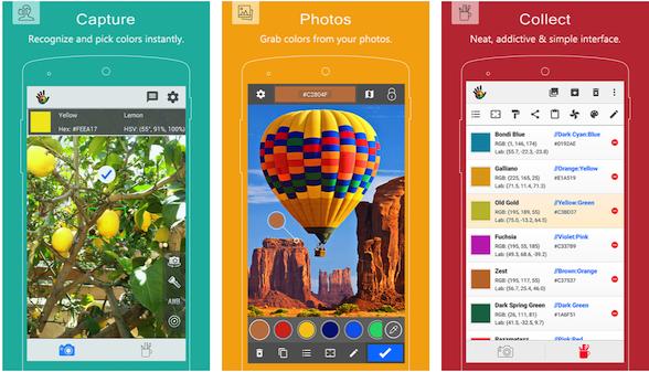 Color Grab: Android measurement app