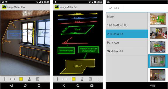 ImageMeter: measurement app Android