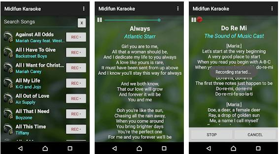 Midifun Karaoke: Android Karaoke Apps