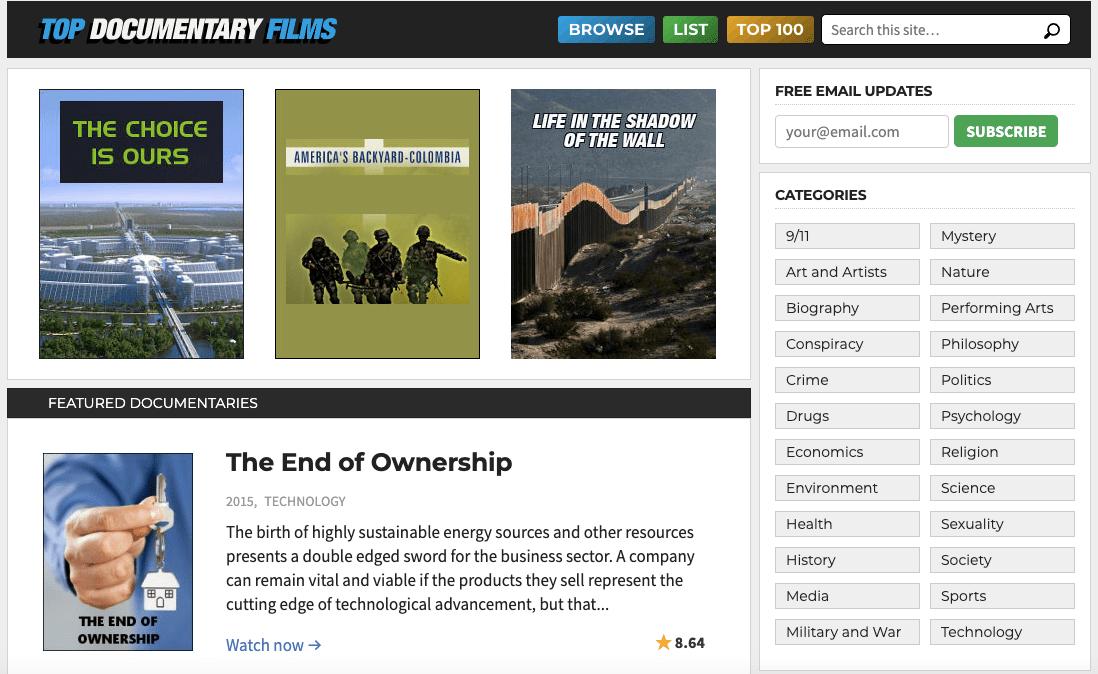TopDocumentaryFilms : Download movies online