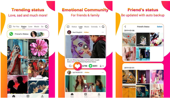 UVideo: WhatsApp status video download application