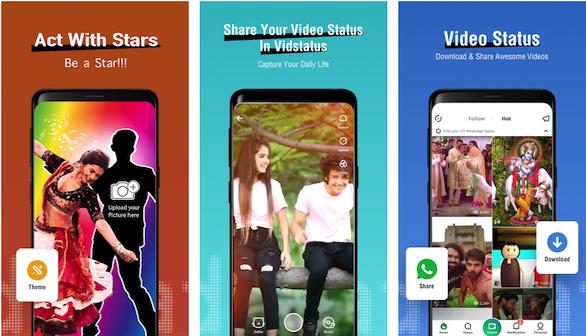 VidStatus: WhatsApp Status video downloader app