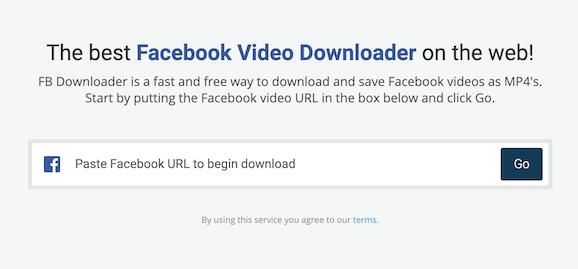 Download Facebook Videos Desktop
