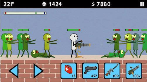Stickman and Gun 3: Zombie Shooter