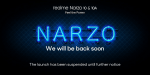 Realme postpones the launch of Narzo series again