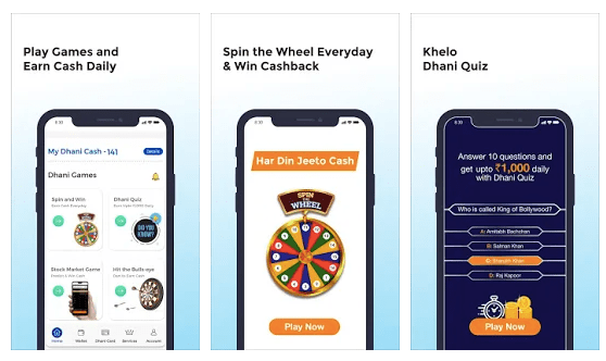 dhni: play games and earn money
