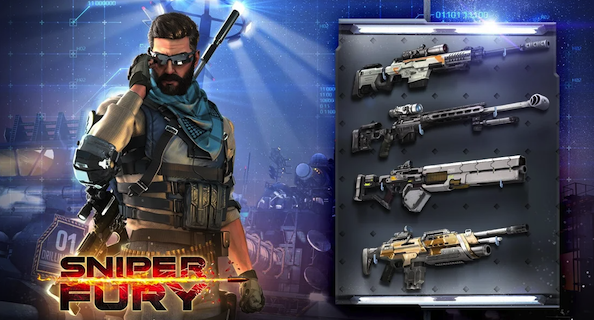 Sniper Fury: Snipe Game for Android and iOS