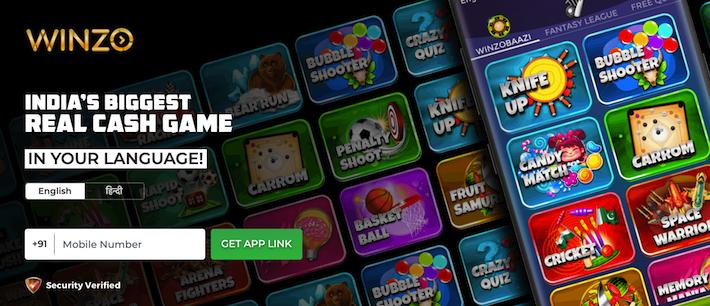 Winzo: PLAY GAMES AND EARN
