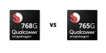Qualcomm Snapdragon 768G vs Snapdragon 765G