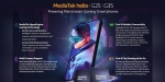 MediaTek Helio G35 and G25 Octa-Core chipsets announced budget gaming phones