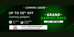 """Best deals from """"Grand Gaming Days"""" on Amazon"""