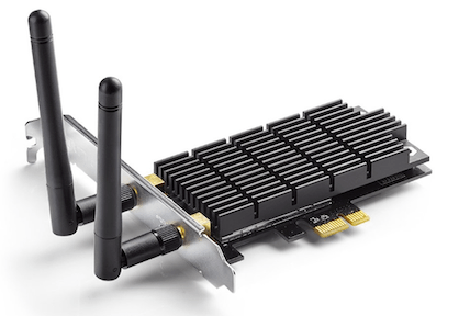 TP-Link Archer T6E AC1300 PCIe WiFi adapter