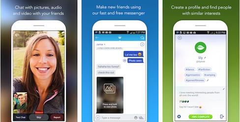 Chatous: Random video chat app