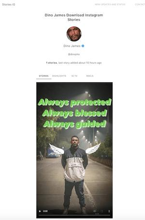 Storiesig: watch Instagram Story anonymously