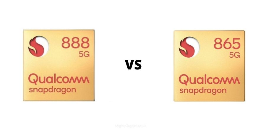 Qualcomm Snapdragon 888 Vs Snapdragon 865