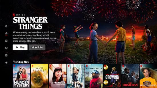 Netflix OTT platform