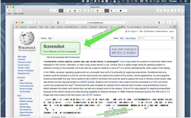Greenshot: Snipping tool macOS