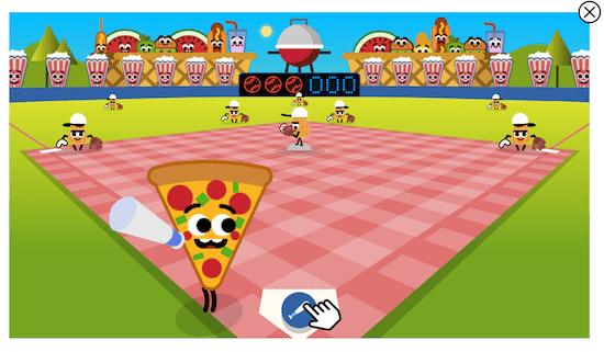 Baseball doodle game