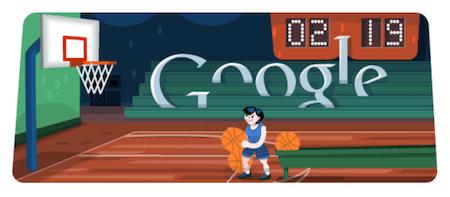 Basketball Google Doodle Game