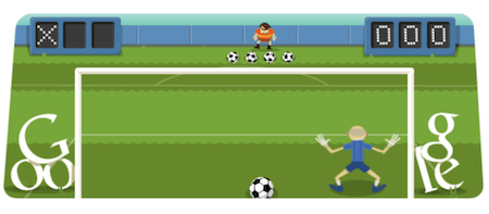 Soccer: Popular Google Doodle Game