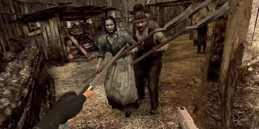 A Resident Evil 4 VR remake announced on Oculus Quest 2