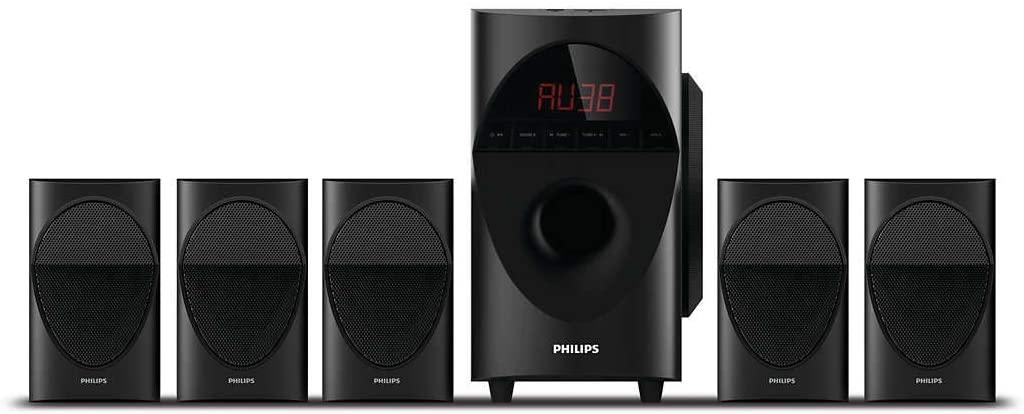 Philips in-SPA 5190B/94 Multimedia Speaker System under 10k