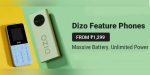 DIZO launches Star 300 and Star 500 feature phones in India