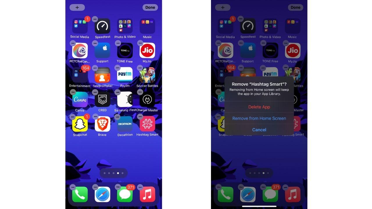 Delete Apps on iPhone