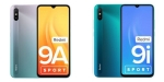 Redmi 9A Sport and Redmi 9i Sport launched in India starting at Rs. 6999