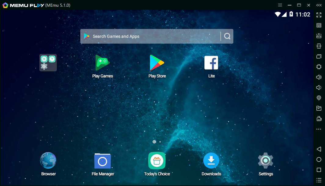 Memu App Player is the best Android emulator for PCs to play mobile games. It can provide excellent performance and gives best user experience. Also Memu Player supports various system (PCs) configurations.