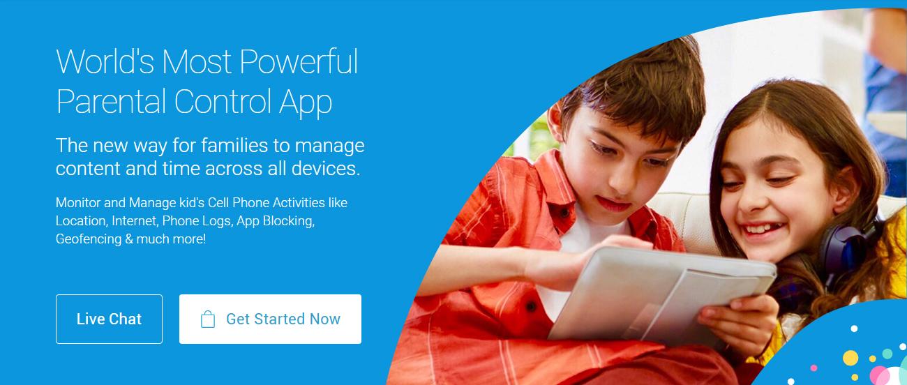 iOS parental control apps like FamilyTime