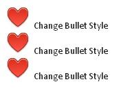 Love Bullet Style