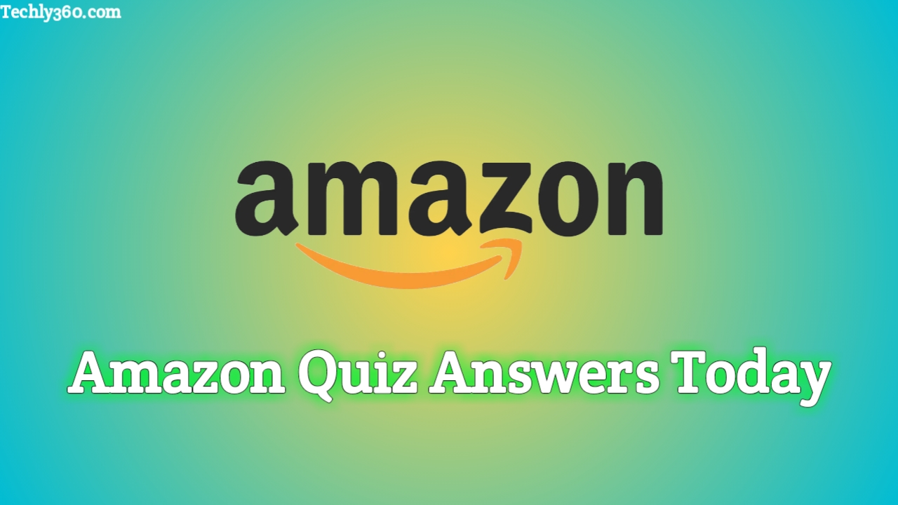 Today's Amazon Quiz Answers Today 22 March 2020