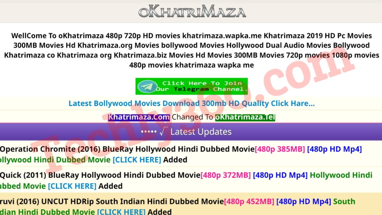 Okhatrimaza 2020 : Download Latest Bollywood and Hollywood Hindi Movies